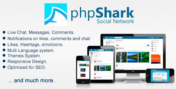 CodeCanyon phpShark Social Networking Platform 6886311