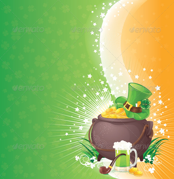 GraphicRiver Saint Patrick s Day Background 6887122
