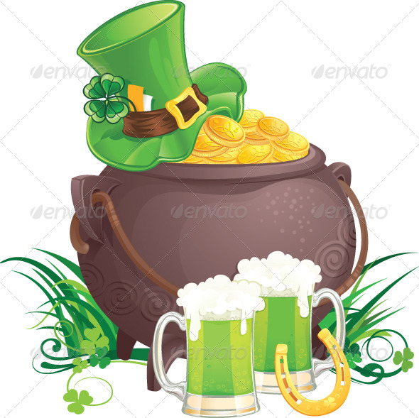 GraphicRiver Saint Patrick s Day Symbols 6887280