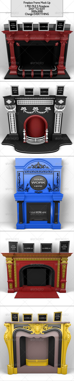 GraphicRiver Fireplace Frame 6887479