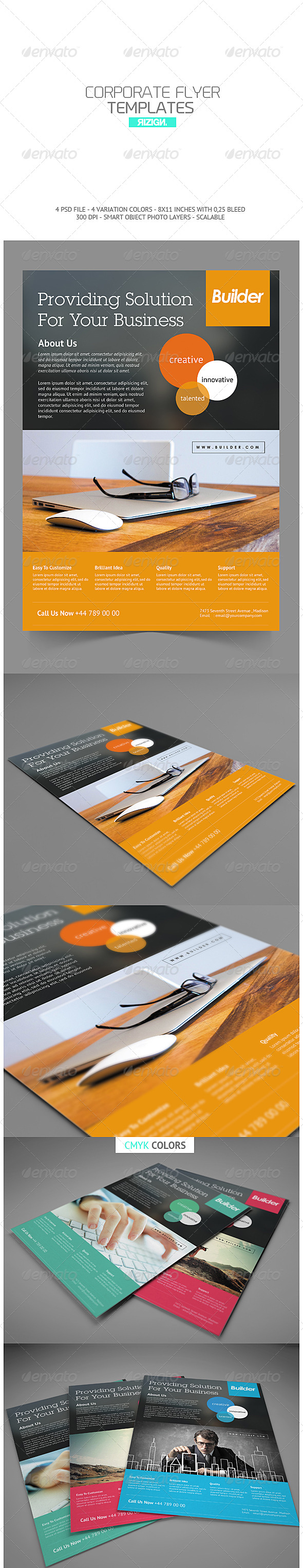 GraphicRiver Multipurpose Business Flyer 6887713