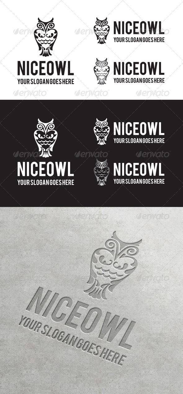 GraphicRiver Niceowl Logo 6887839