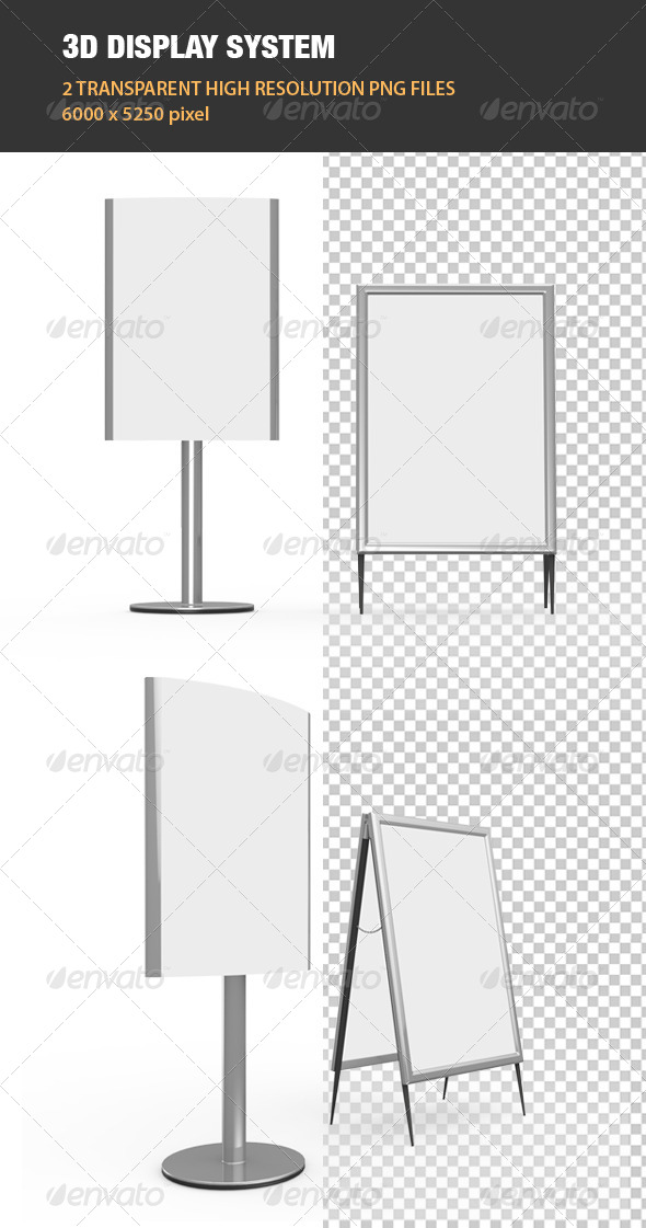 GraphicRiver 3D Display System 6888623