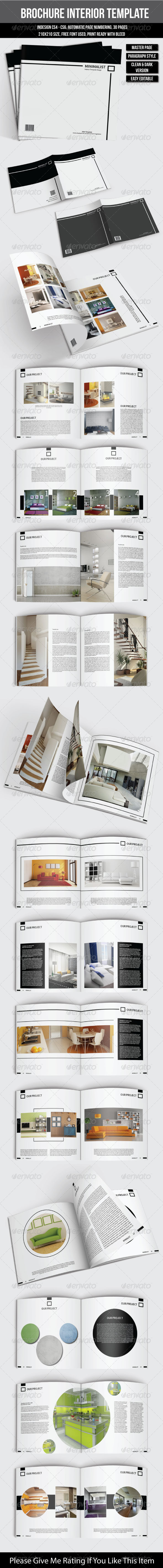 GraphicRiver Square Interior Brochure 6888738