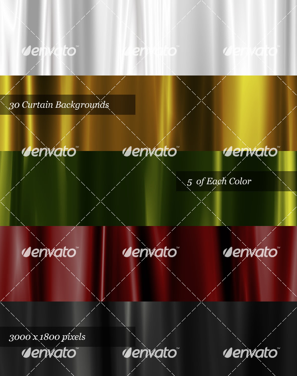 GraphicRiver 30 Satin Curtain Backgrounds 29294