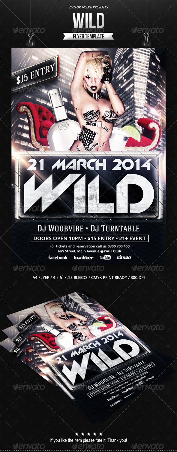 GraphicRiver Wild Flyer 6870701