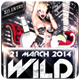 Wild - Flyer - GraphicRiver Item for Sale
