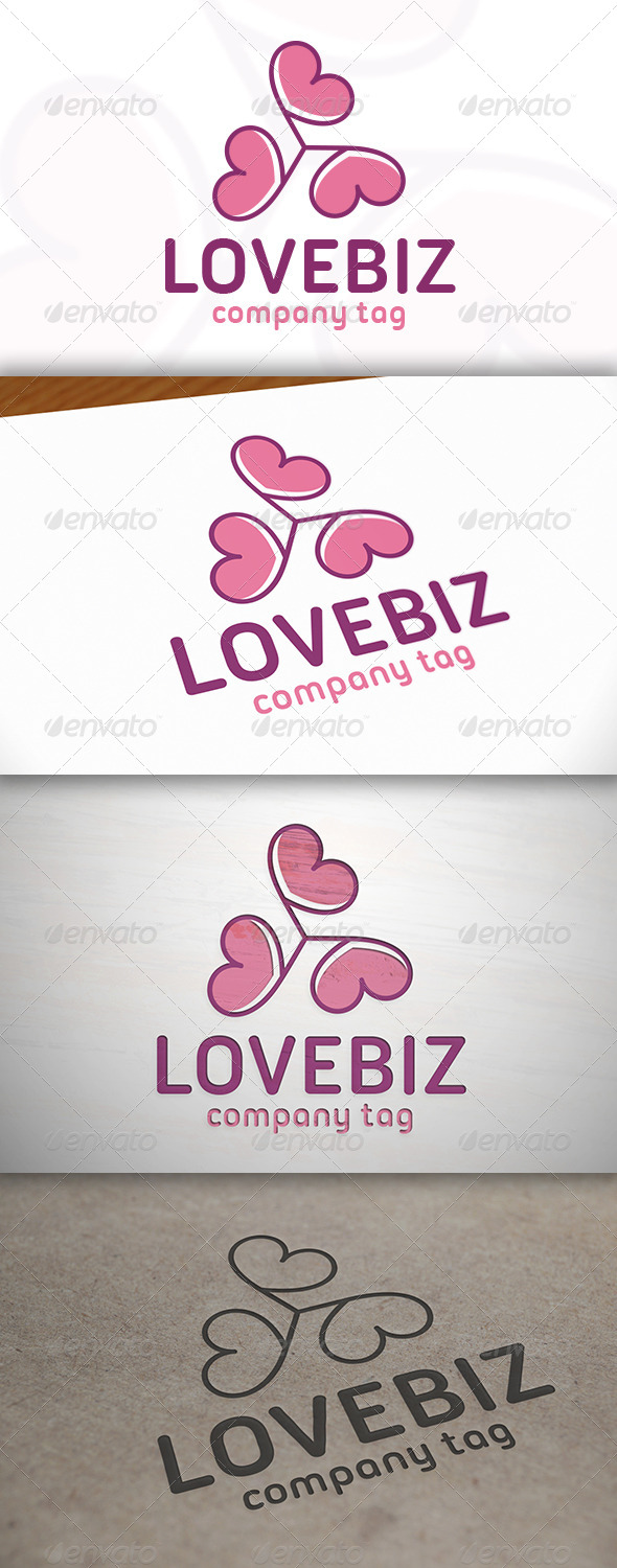 GraphicRiver Love Logo 6889810