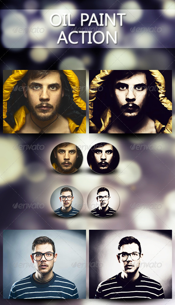 GraphicRiver Oil Paint Action 6891007