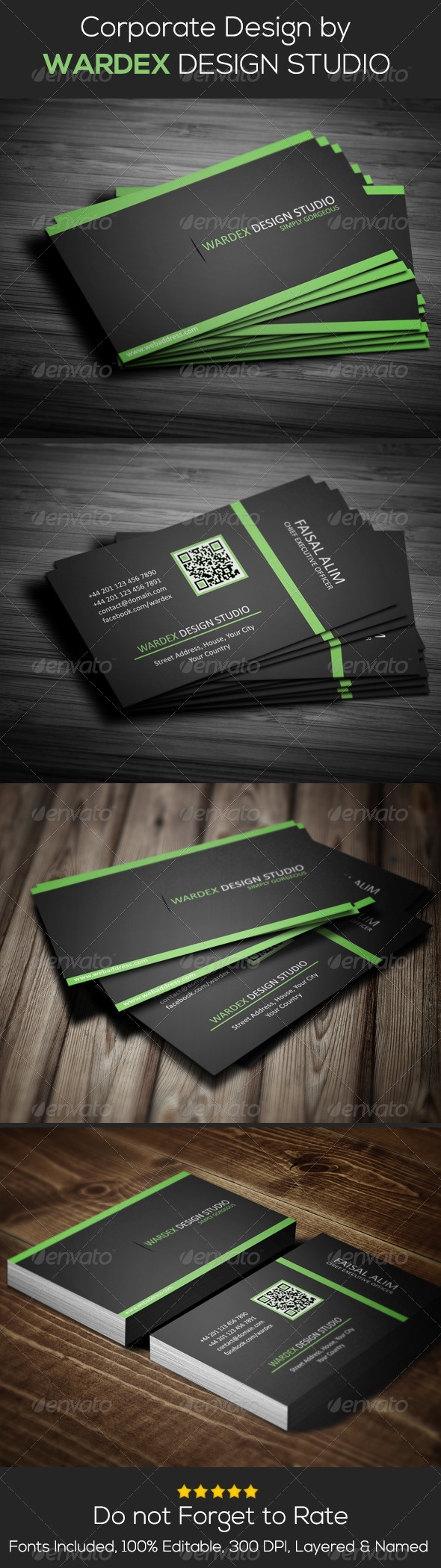 GraphicRiver Corporate & Pro Business Card Design 6891145