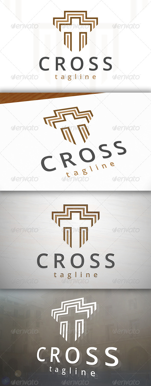 GraphicRiver Cross Logo 6891477
