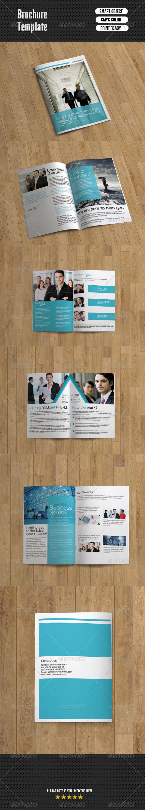 GraphicRiver Business Brochure Template 6892312