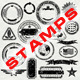 Vector Stamp Collection - GraphicRiver Item for Sale