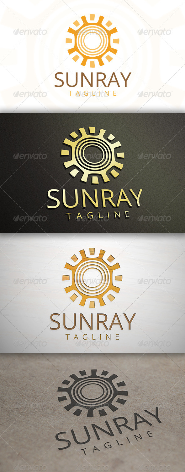 GraphicRiver Sun Ray Logo 6893409