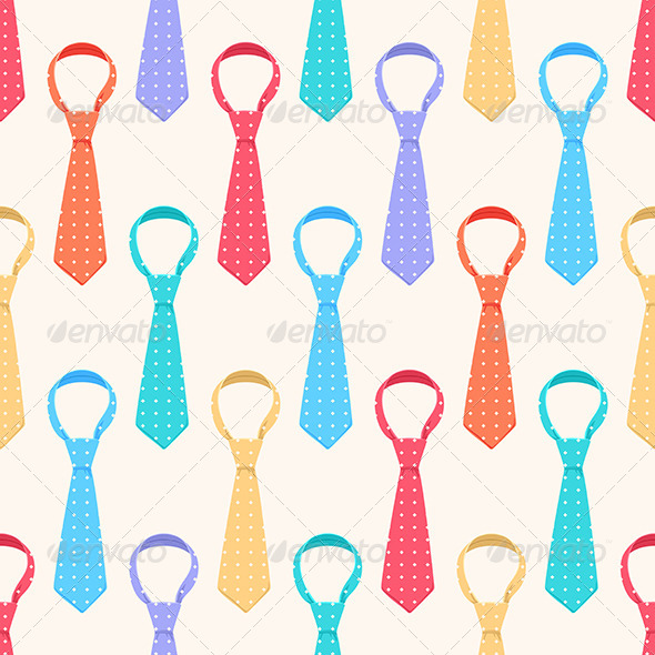 GraphicRiver Colored Ties 6893495