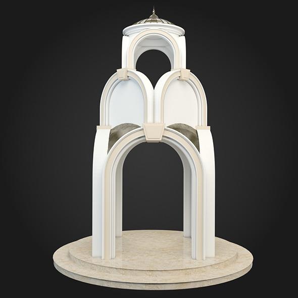 Gazebo 028 - 3DOcean Item for Sale