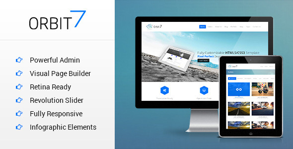 Orbit7 - Premium Multipurpose WordPress Theme - Business Corporate