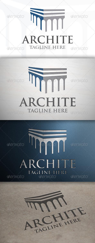 GraphicRiver Architecture Logo 6893987