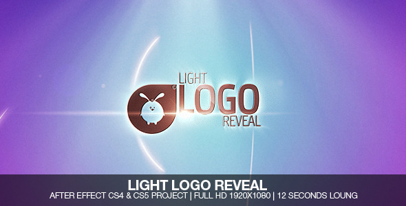 After Effects Project - VideoHive Light Logo Revel 721364