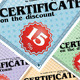 Certificate On The Discount 4 - GraphicRiver Item for Sale