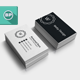 Simple Clean Corporate Business Card V2