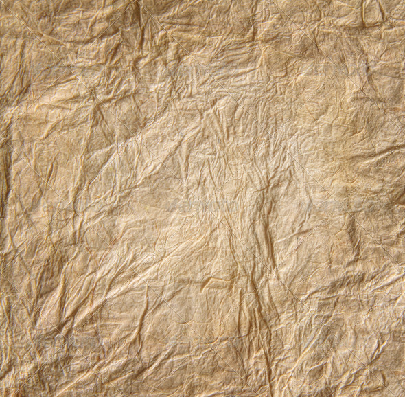 Closeup of old  parchment paper - Stock Photo - Images