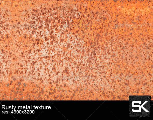 GraphicRiver Rusty Metal 6895643