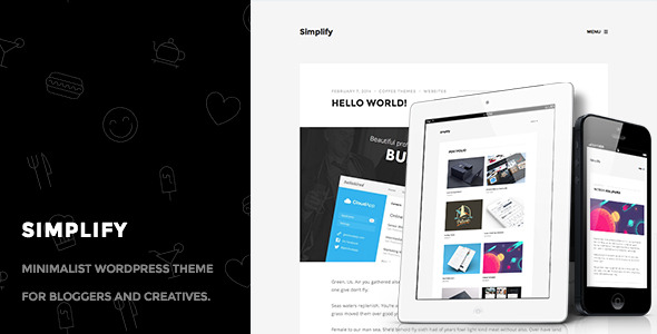 Simplify - Minimalist Personal Blog