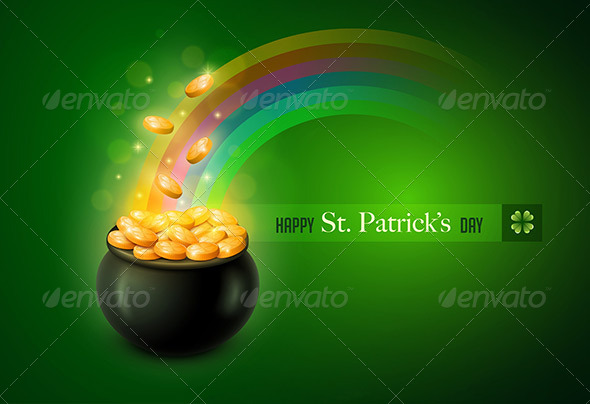 GraphicRiver St Patrick s Day Greeting Card 6896149