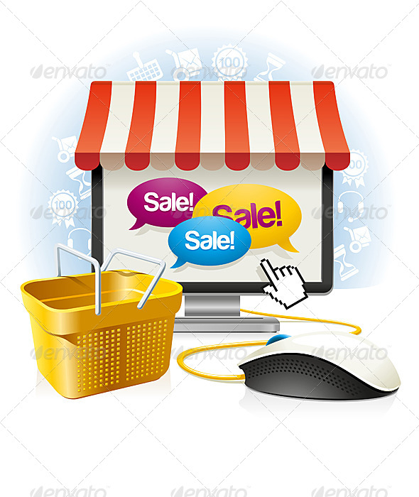 GraphicRiver Internet Shop 6896218