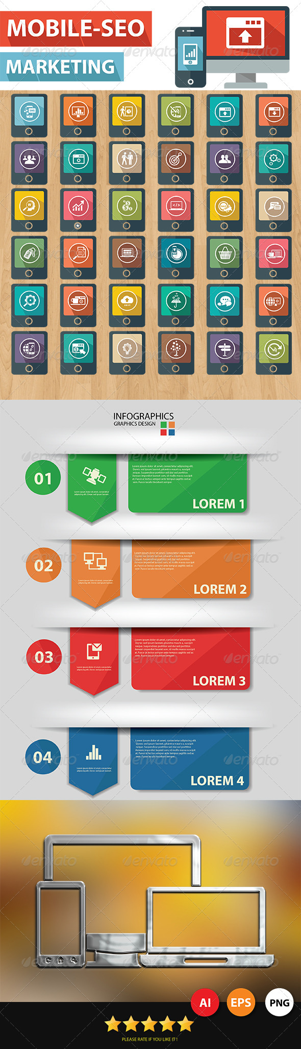 GraphicRiver Mobile-SEO Icons 6858019