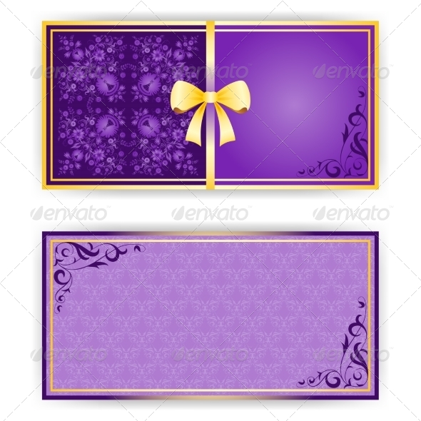 Template for Greeting Card or Invitation