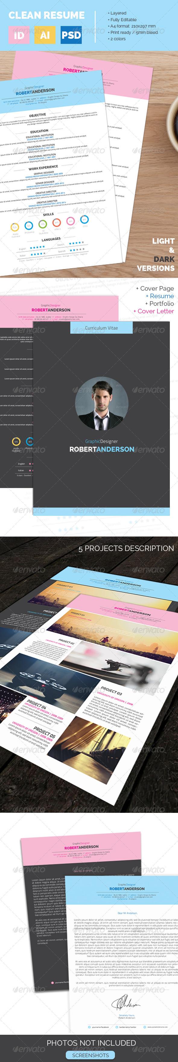 GraphicRiver Resume CV 6897816