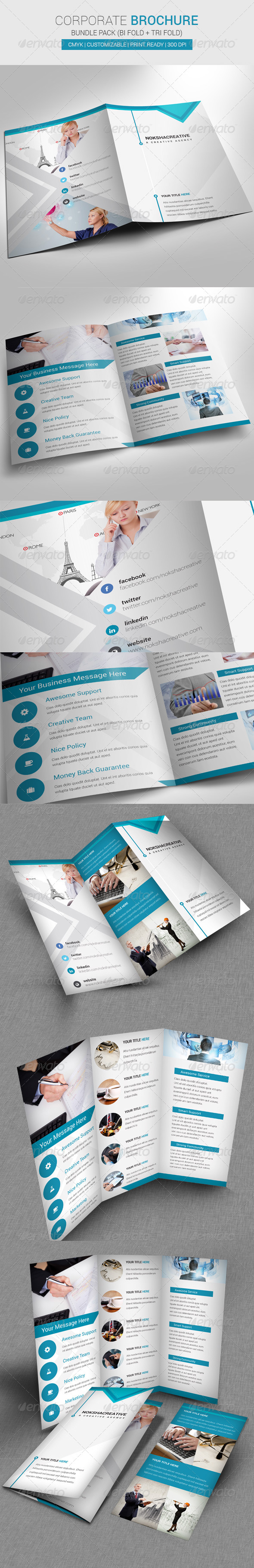 GraphicRiver Bundle Pack Brochure 6898417
