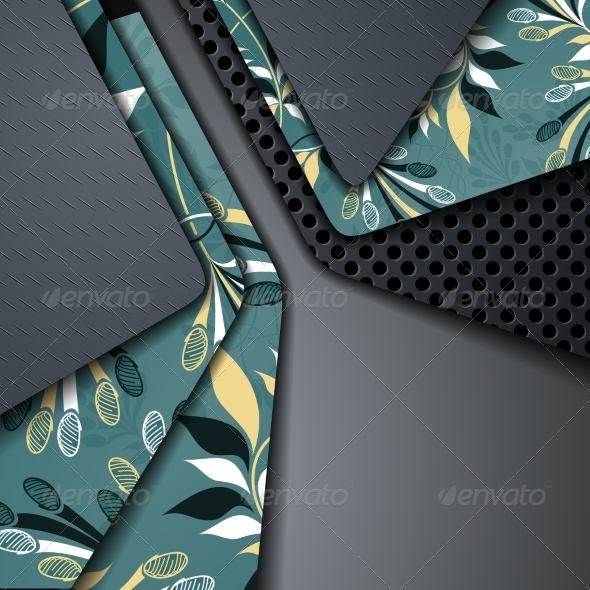 GraphicRiver Multi Layered Abstract Background 6898546