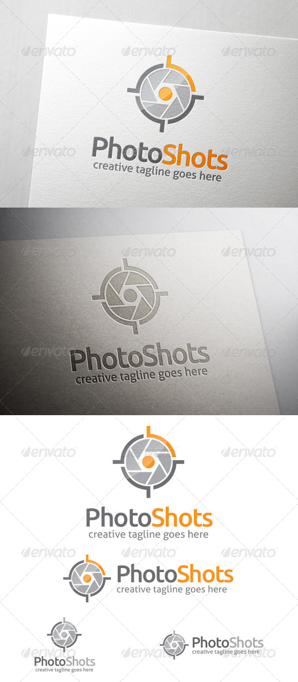 GraphicRiver Photo Shots Logo 6898749