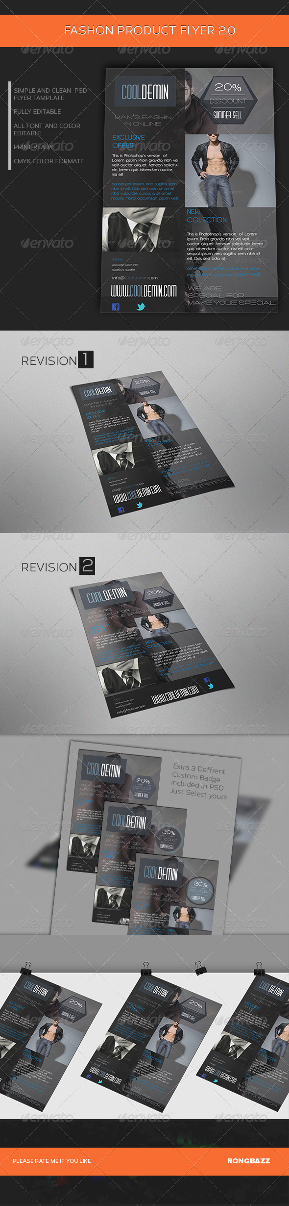 GraphicRiver Man s Fashion Product Flyer Template 2.0 6898777