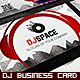 DJ Business Card Template - GraphicRiver Item for Sale