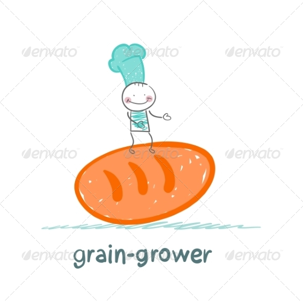 GraphicRiver Grain Grower Keeps Bread 6899220