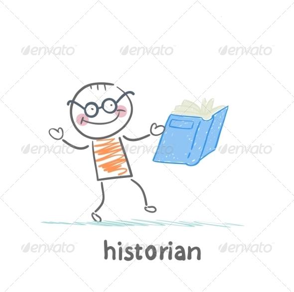 GraphicRiver Historian Book Readers 6899237