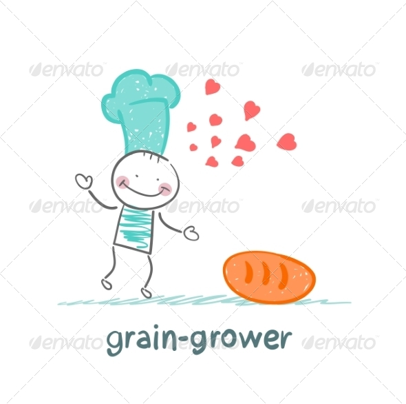 GraphicRiver Grain Grower Loves Bread 6899250