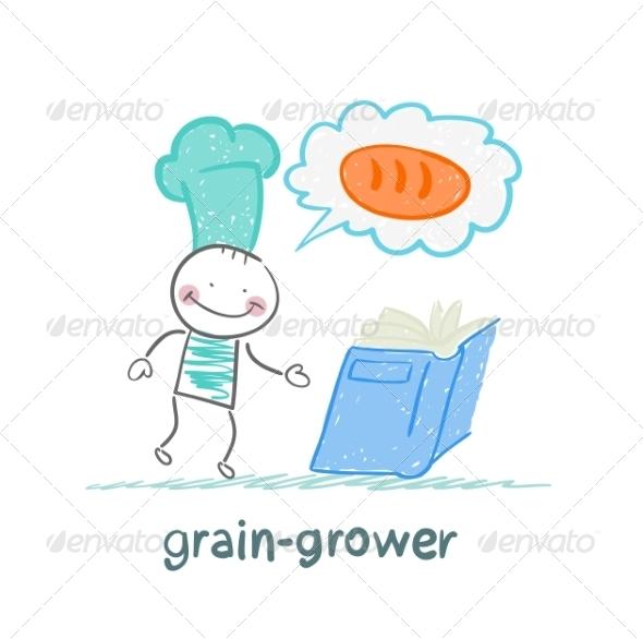 GraphicRiver Grain Grower Reads Recipe 6899264