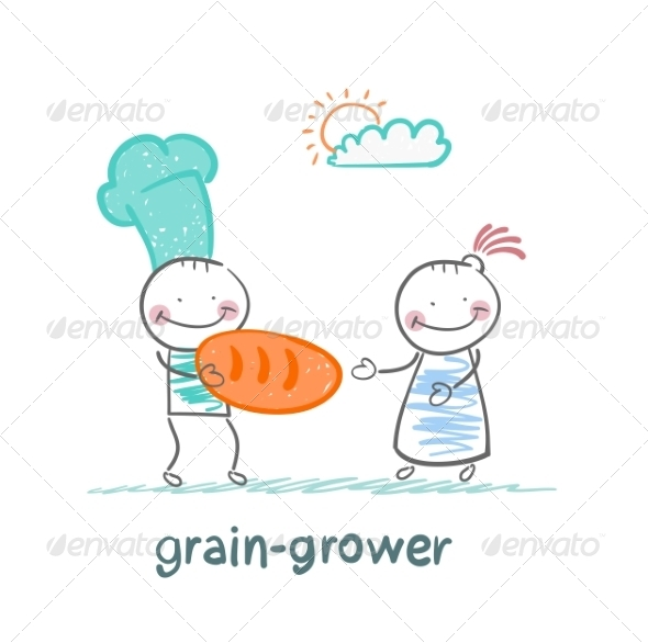 GraphicRiver Grain Grower Gives Bread 6899270