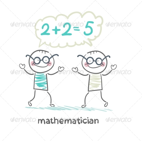 GraphicRiver Mathematician Solving Problems 6899323