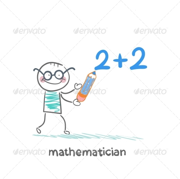 GraphicRiver Mathematician Wrote in Pencil Task 6899339