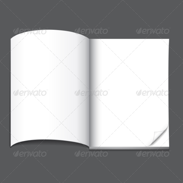 GraphicRiver Blank Magazine Page 6899542