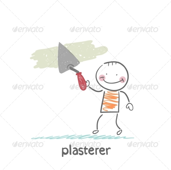 GraphicRiver Plasterer Works 6899720