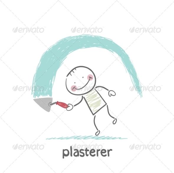 GraphicRiver Plasterer Works 6899727