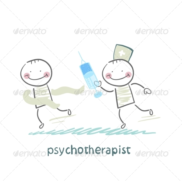 GraphicRiver Psychotherapist with a Syringe 6900716