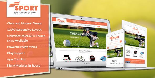 SM Sport - Responsive Magento Theme - Shopping Magento